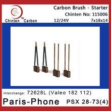 PSX 28-73(4) Paris-Phone starter motor carbon brush