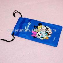 Digital Printing Microfiber Sunglass/ Eyeglasses Bag (customize any size)
