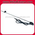 Carro universal superior/montagem lateral am/rádio fm antena cabo