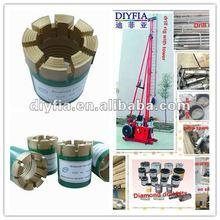 Diamond drill Bit core sample by Core Drilling