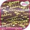 Happy Birthday Chocolate Transfer Sheets Cheap