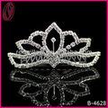 popular do rhinestone nupcial tiara coroa da princesa para as meninas