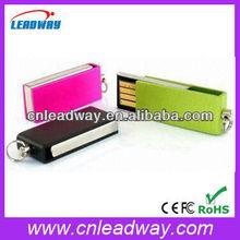 Portable metal usb with keyhole