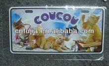 Custom 9cm*18cm metal business card