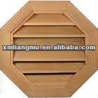 Wood Octagon Window Shutters