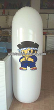 kids inflatable bop bag/inflatable tumbler with water