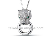 new design 2012 popular animal pendant necklace
