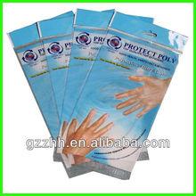 Durable plastic laundry bags