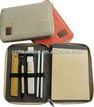 school & office cotton fabric stationery set