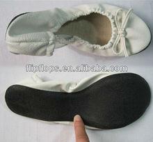 Sola de couro sapatos de dança