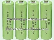nimh aa 600mah 1.2v battery factory
