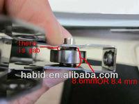 Used in shower door/sliding door/window non-standard bearings