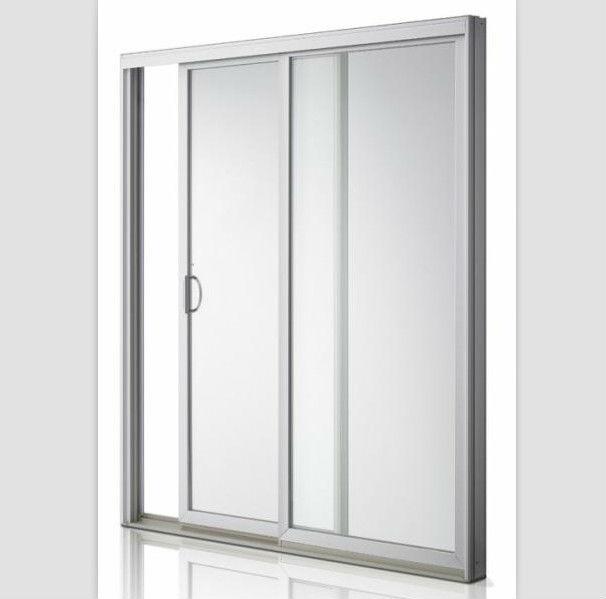 Frosted glass aluminium bathroom doors designs view for Aluminium bathroom door designs