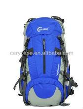 resistant nylon backpack bag, blue water tube backpack, hiking bag