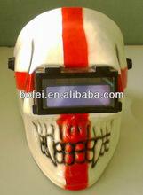 ENGLAND CROSS Skull Auto-darkening Welding Helmet