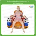 gonflables siège posture jouet poupée de sexe pour les hommes avec vagin vierge