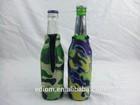 330ml 12oz 750ml Custom Printing Neoprene NBR Foam Rubber Soda Water Cola Beer Bottle Cooler Holder