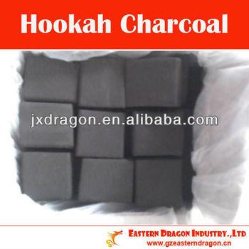 smokeless odorless fire flavors of cube charcoal for shisha/hookah (100% pure white ash)