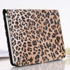Leopard Grain Leather Cover For iPad Mini Magnet Button