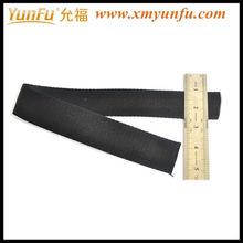calidad negro de algodón militar cinturones web