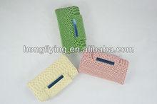 Crocodile pattern folio design PU leather pouch for iphone 5