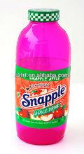 Inflable gigante Snapple jugo de botella de la bebida