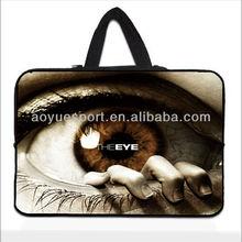 "7""-17"" Fancy Neoprene laptop handle sleeve/case/bag(factory)"