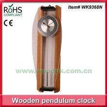Woodpecker wooden quartz clock big wall clock pendulum clock