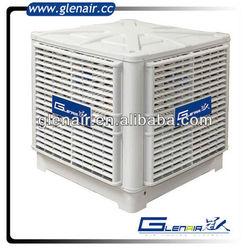 18000M3/h industrial air curtain, air cooled fan