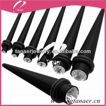best price black ear tapers