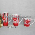 Cono de cerámica- en forma de café de cerámica tazas de china