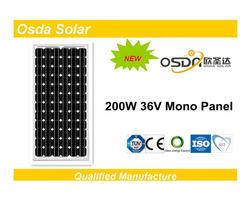 ODA200-36-M Mono 200W Panel Solar