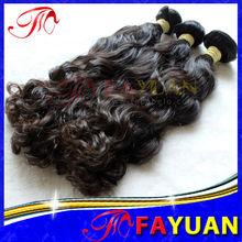 New Fayuan Hair!!! AAAAA Super Wavy Hair Weft/Extensions.14''-36'' Raw Virgin Mongolian Hair Products Deep Wave