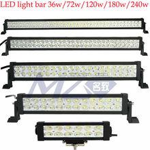 New items off road led light bar 120w for Jeep ,UTV, SUV,Trucks, double bracket ,New items 2012