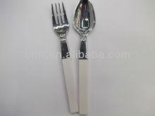 Scoop and fork shape ballpen