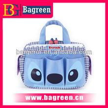 Multifunction nylon cute cartoon design travel bag organizer