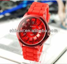 Hotsale Fashion Jelly Watch Silicone Strap