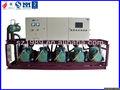 multi bitzer compresor para paquete de refrigeración industrial