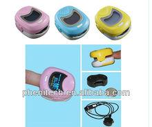2012 Hot Selling color display Fingertip pulse oximeter 50QB for kids