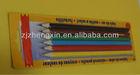 Blister packing colour pencil crayon set