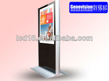 55 inch stand media display advertising