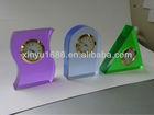 acrylic table clock