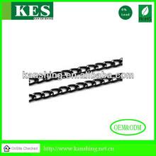 high resolution image &home design black aluminum chain for handbag parts
