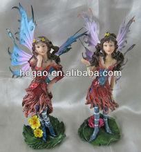 Fairy Ornament, Resin Decoration, Polyresin Figurine