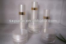 cheap Acrylic roundcream jar cosmetic cream empty jar and bottle