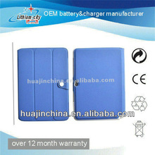 colour PU leather case for apple ipad