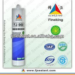FJ-968 high grade acetic transparent acetic silicone sealant
