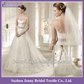 sp016 2013 uma linha manga longa laço de cetim catedral trem longo comboio de uma linha de vestido de noiva vestido de noiva beading vestidos