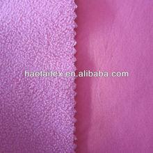 bonded 100%polyester fleece fabric