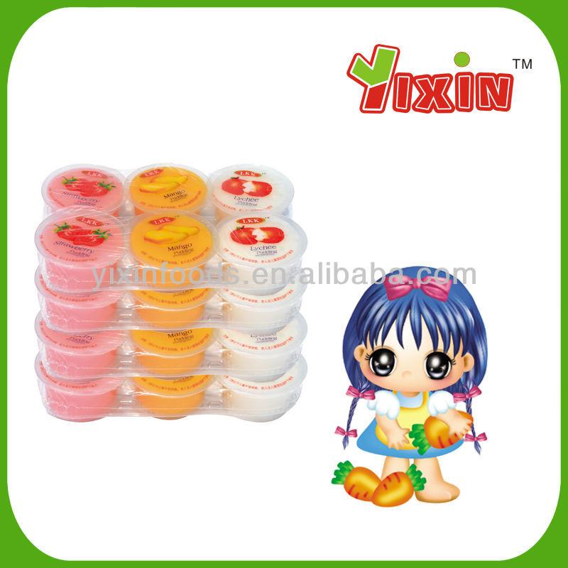 Fruit Jelly Cups Recipe Mini Fruit Jelly Cup